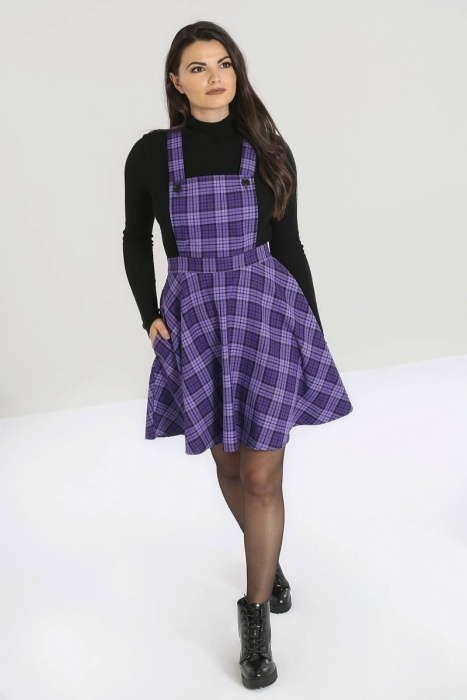 Karine Pinafore Dress Plus Size