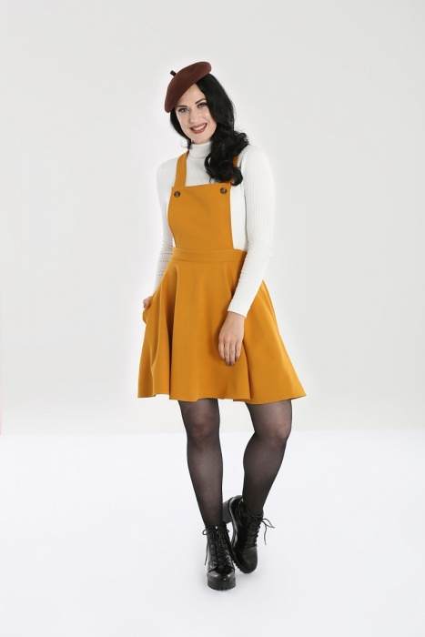 Amelie Pinafore Dress