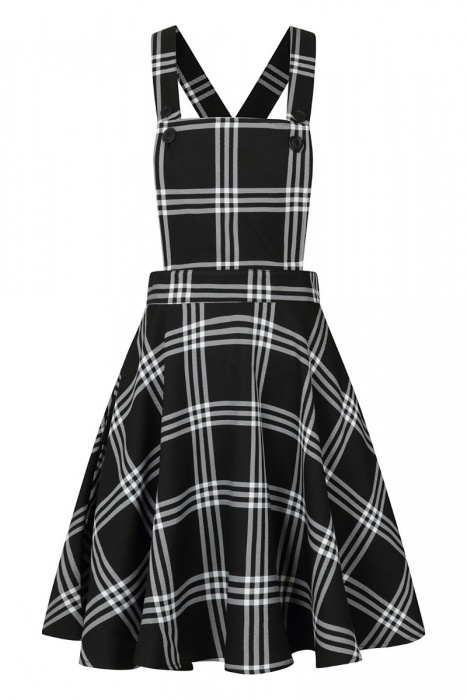Piper Pinafore Dress Plus Size