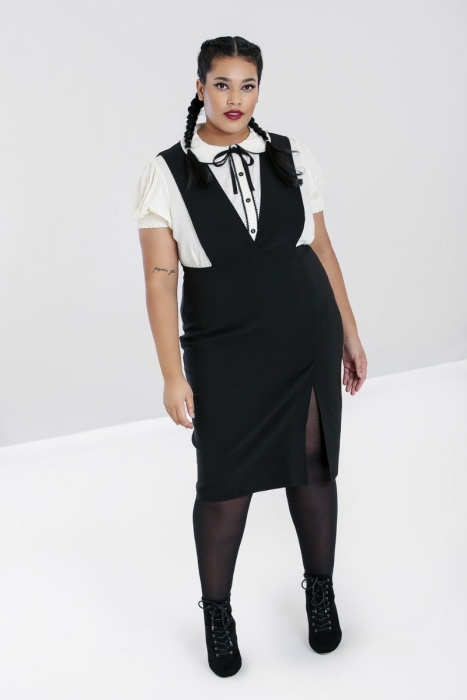 Claire Pinafore Dress