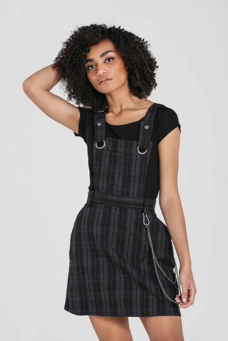 Storm Pinafore Dress