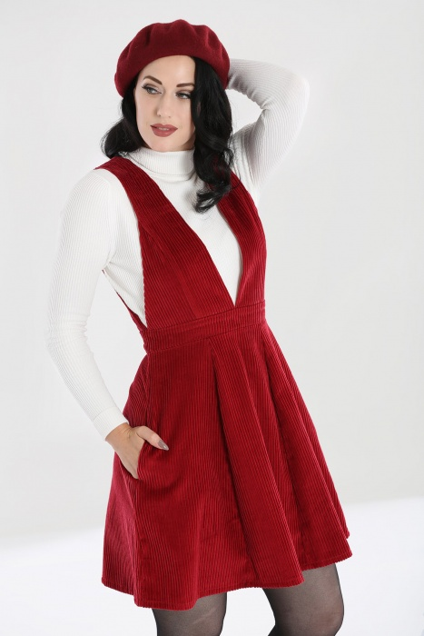 Jeanette Pinafore Dress