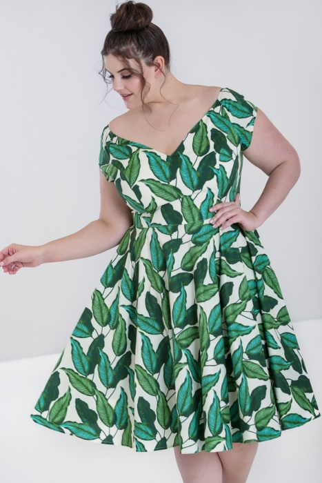 Rainforest 50's Dress