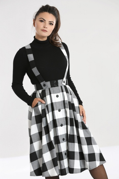 Teen Spirit Pinafore Skirt