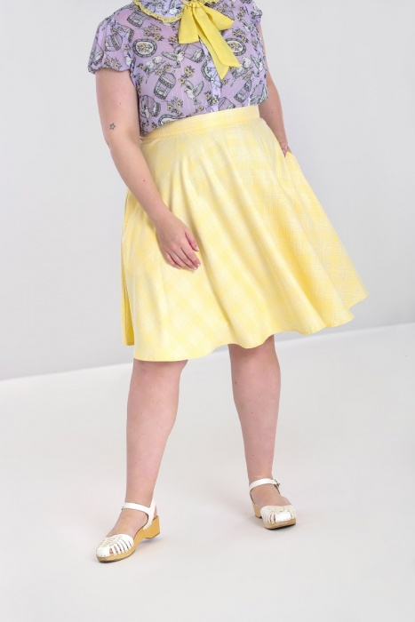 Joy Mid Skirt Plus Size