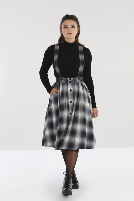 Eddystone Pinafore Skirt