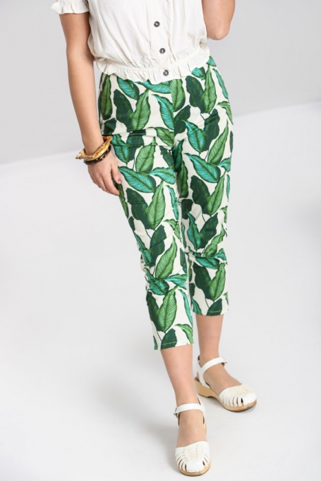 Rainforest Cigarette Trousers