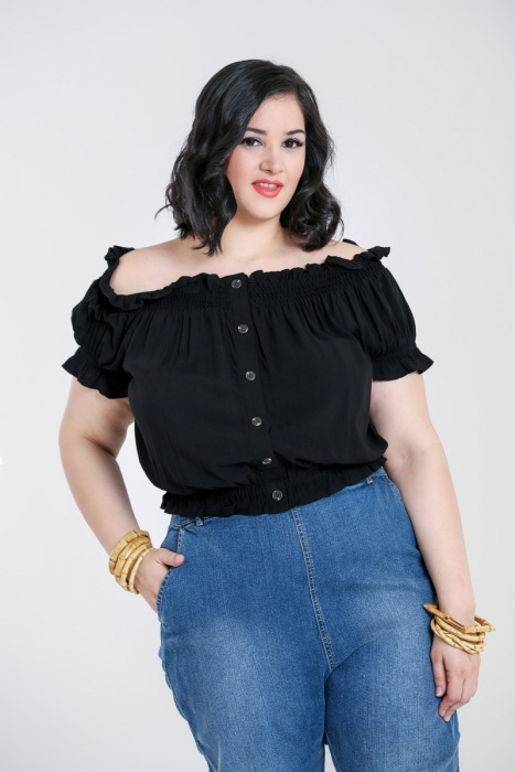 Soledad Top Plus Size