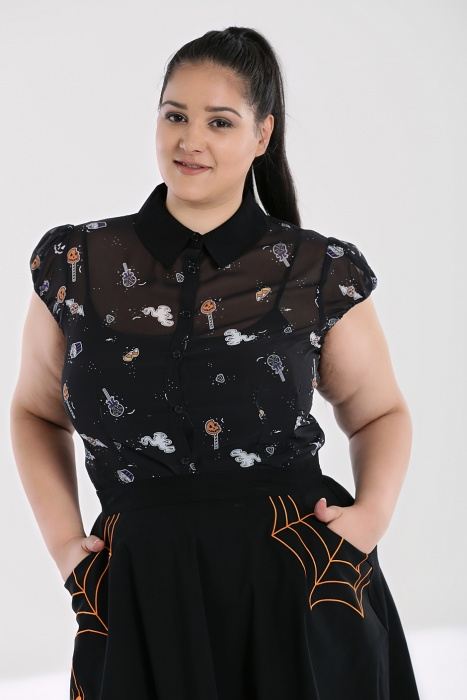 Trick or Treat Blouse