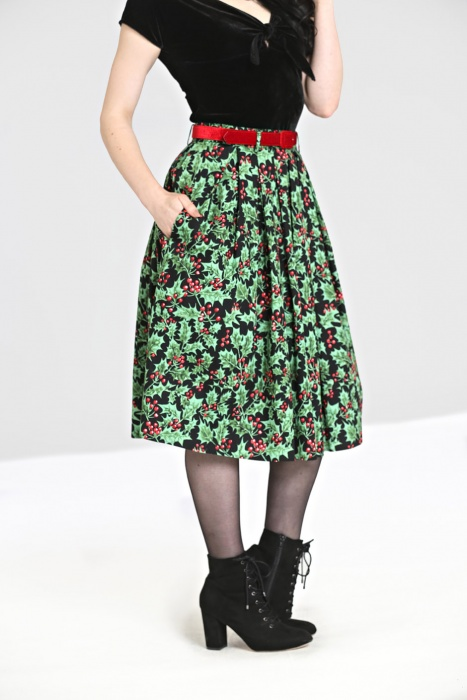 Holly Berry Skirt