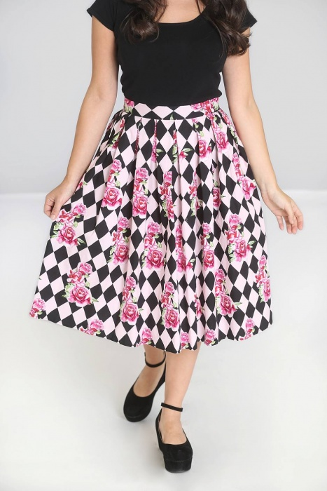 Harlequin 50's Skirt