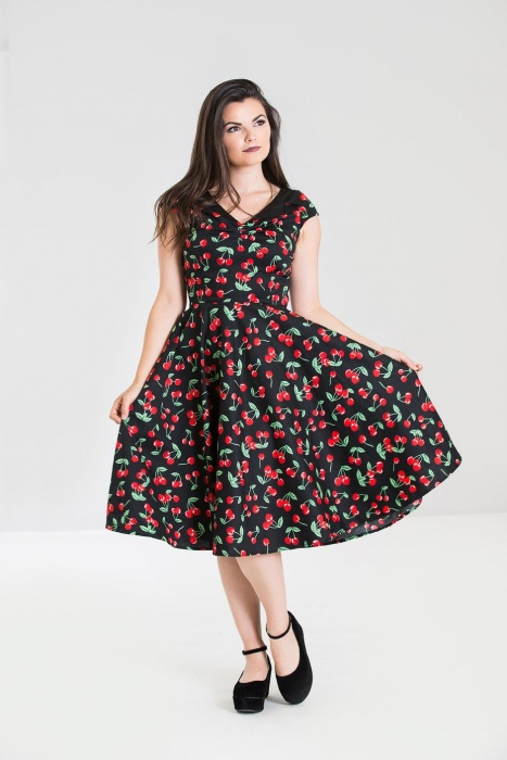 Cherry Pop 50S Dress