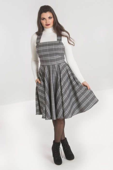 Frostine Pinafore Dress