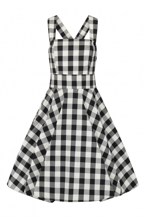 Victorine Pinafore Dress Plus Size