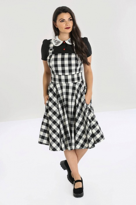Victorine Pinafore Dress