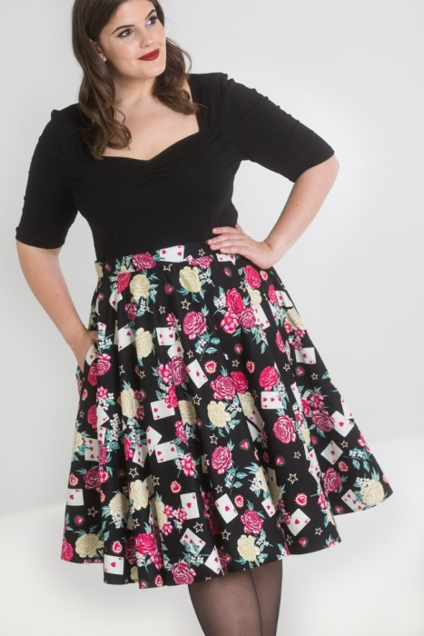 Queen Of Heart 50's Skirt