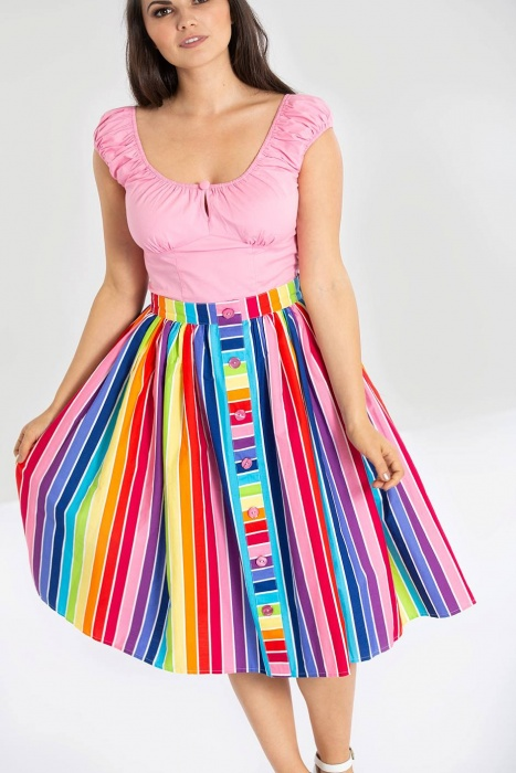 Over The Rainbow 50's Skirt
