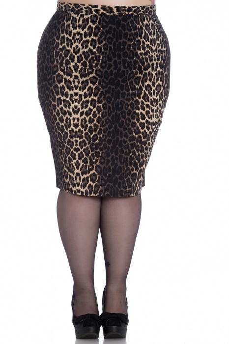 Panthera Pencil Skirt
