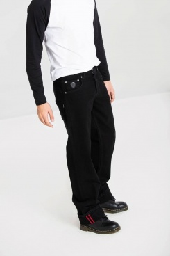 LOOSE LARRY JEANS BLACK