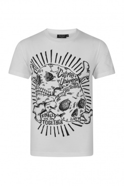 Cosmos t-shirt White