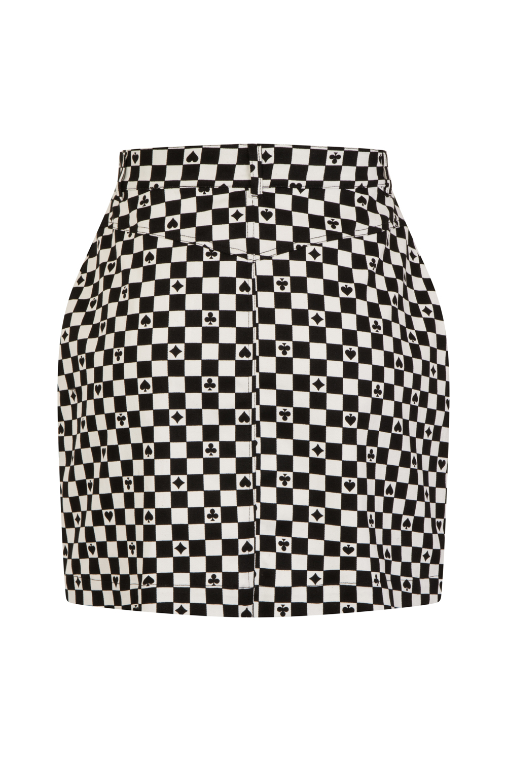ded2c5a32 Plus Size Leather Look Mini Skirt – DACC